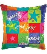 "18"" Hooray! Good Job! Star Collage"