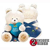 "24"" Beary Special Bear Blue Balloon"