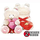 "24"" Beary Special Bear Red Balloon"