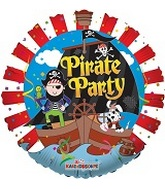 "18"" Pirate Party Mylar Balloon"