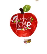 "28"" I Love You Apple Jumbo Balloon"
