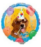"9"" Airfill Party Dog Balloon"