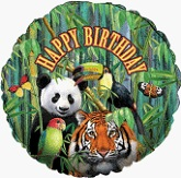 "18"" Jungle Birthday Balloon"