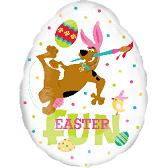 "18"" Scooby Easter Fun Balloon"