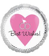 "18"" Best Wishes Silver Rings"