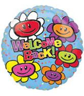 "18"" Welcome Back Smiley Flowers"