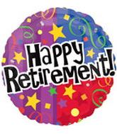 "18"" Happy Retirement Party Balloon"