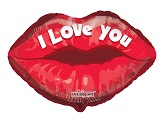 "18"" I Love You Lips"