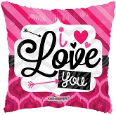 "18"" I Love You Patterns Gellibean"