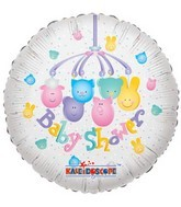 "18"" Foil Balloon Baby Shower Mobile"