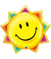 "35"" Shape Packaged Sunshine Smile Face"