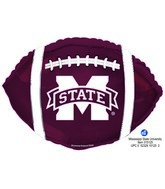 "21"" Mississippi State University Football"