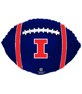 "21"" University Of Illinois Collegiate Football"