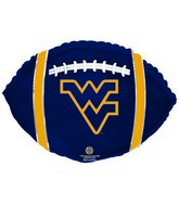 "21"" West Virginia University Collegiate Football"