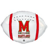 "21"" University Of Maryland Collegiate Football"