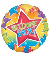 "18"" Welcome Back Stars Balloon"