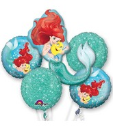 Bouquet Balloon Ariel Dream Big Foil Balloon