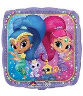 "18"" Shimmer and Shine Balloon Packaged"