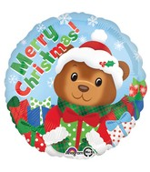 "18"" Christmas Bear Balloon"
