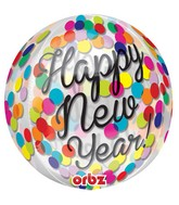 "16"" Confetti New Year Balloon"