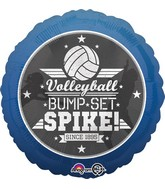 "18"" Volleyball Bump Set Spike Balloon"