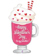 "36"" Foil Shape Valentine Sweetie Float"