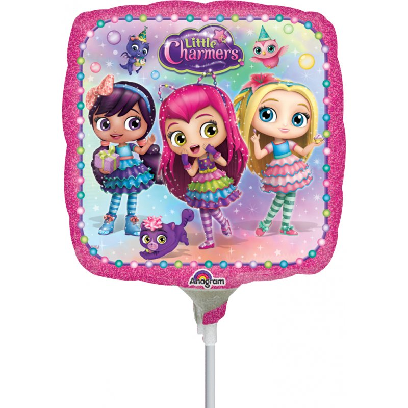 "9"" Airfill Only Little Charmers Foil Balloon"