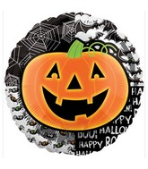 "18"" Halloween Bright Pumpkin Balloon"