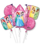 Bouquet Balloon Multi-Princess Dream Big Foil Balloon