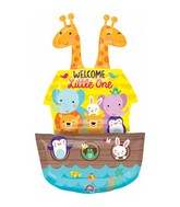 Baby Shower Noah&#39s Ark Foil Balloon