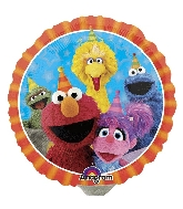 "9"" Airfill Only Sesame Street Fun Balloon"