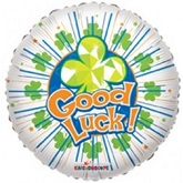 "18"" Good Luck and Best Wishes Balloons"