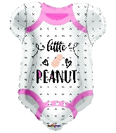 "18"" Little Peanut Baby Girl Pink Foil Balloon"