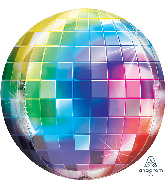 "16"" Disco Ball Orbz™ XL™ Foil Balloon"