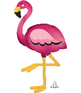 "68"" Flamingo AirWalkers® Foil Balloon"
