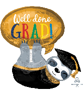 "28"" Grad Sloth Foil Balloon"