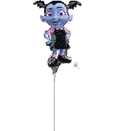 Airfill Only Vampirina Mini Shape Foil Balloon