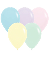 "11"" Betallatex Pastel Matte Mixed Latex Balloons (100CT)"