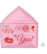 "16"" Love Letter Junior Shape Foil Balloon"