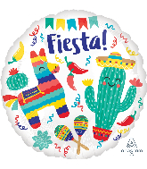 "18"" Fiesta Party Foil Balloon"