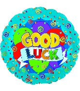 "9"" Airfill Good Luck Graphic Banner M17"