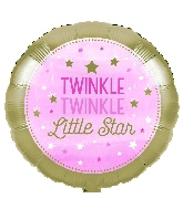 "18"" Twinkle Twinkle Little Star Pink Girl"