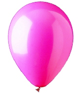 "9"" Standard Magenta Latex (100 Per Bag)"