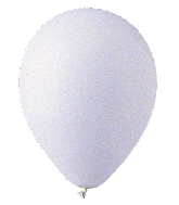 "9"" Standard White Latex (100 Per Bag)"
