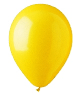"12"" Standard Yellow Latex (100 Per Bag)"