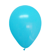 "12"" Standard Ocean Blue Latex (100 Per Bag)"