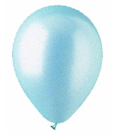 "5"" Pearl Light Blue Latex 100 Per Bag"