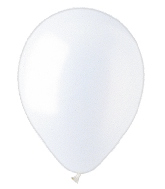"9"" Pearl White Latex (100 Per Bag)"