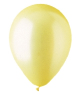 "9"" Pearl Yellow Latex (100 Per Bag)"