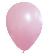 "9"" CTI Brand Matte Bubble Gum Latex Balloons (100 Per bag)"